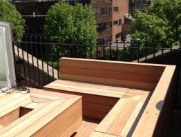 Terraced Railings