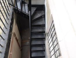 Chequer Plate Staircase