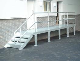 Platform, Steps & Railings