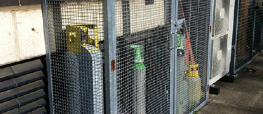 Cylinder Mesh Cage